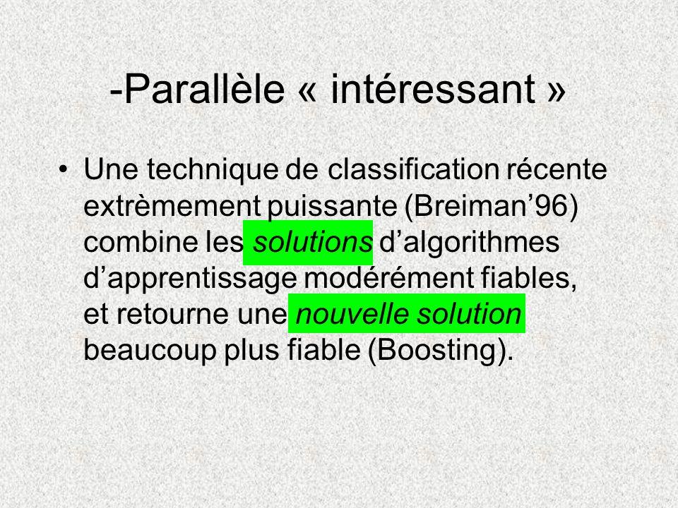 -Parallèle « intéressant »