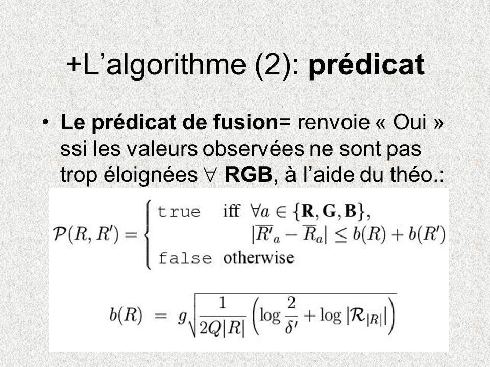 +L'algorithme (2): prédicat