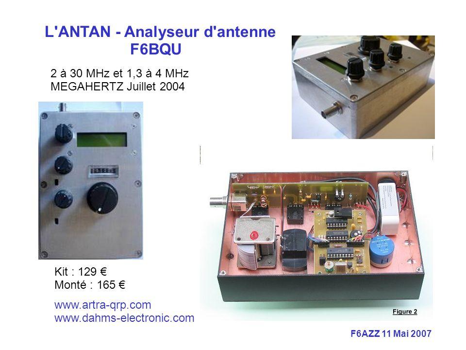 L ANTAN - Analyseur d antenne