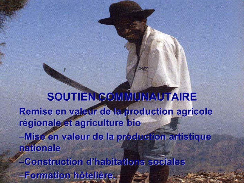 SOUTIEN COMMUNAUTAIRE