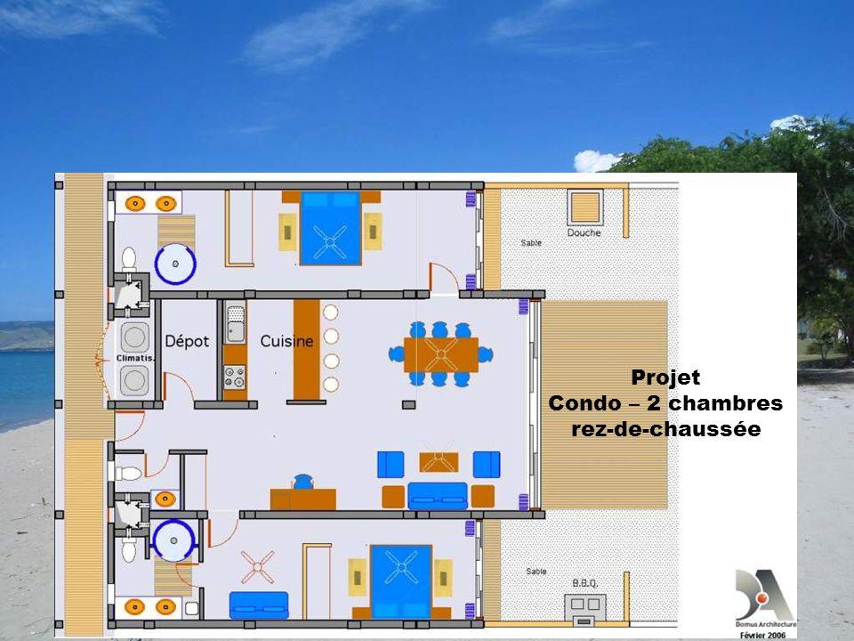 Condo – 2 chambres rez-de-chaussée
