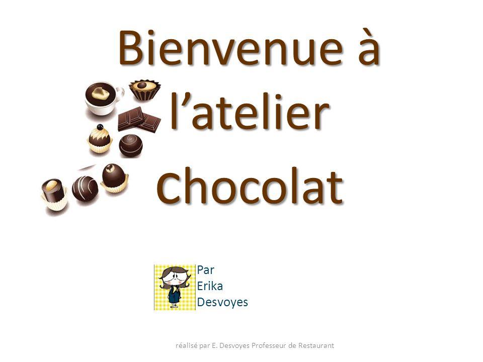 Bienvenue à l'atelier chocolat