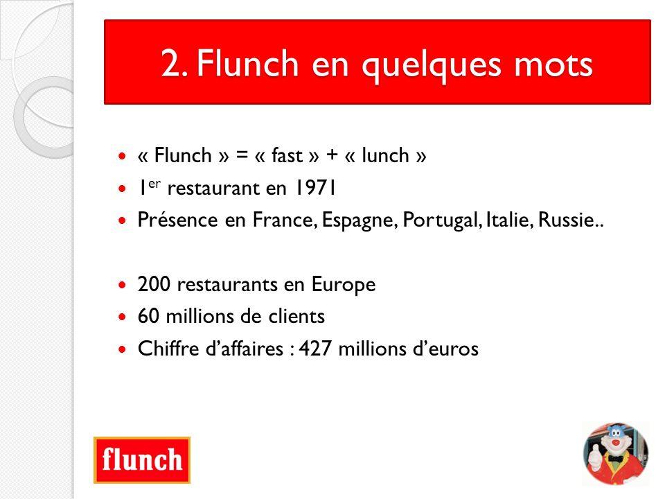 2. Flunch en quelques mots