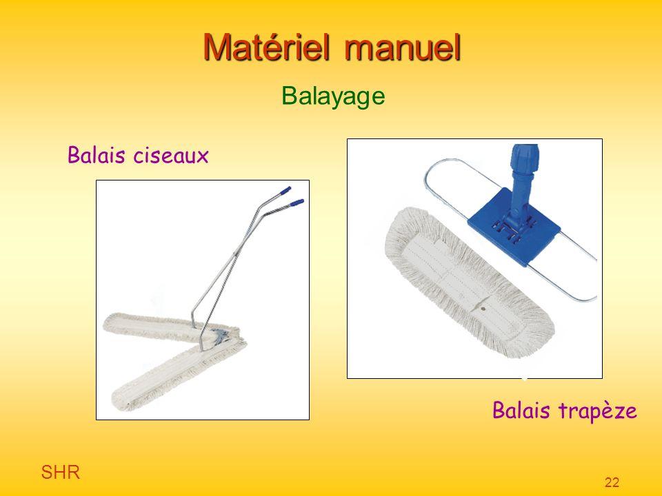 Matériel manuel Balayage Balais ciseaux Balais trapèze