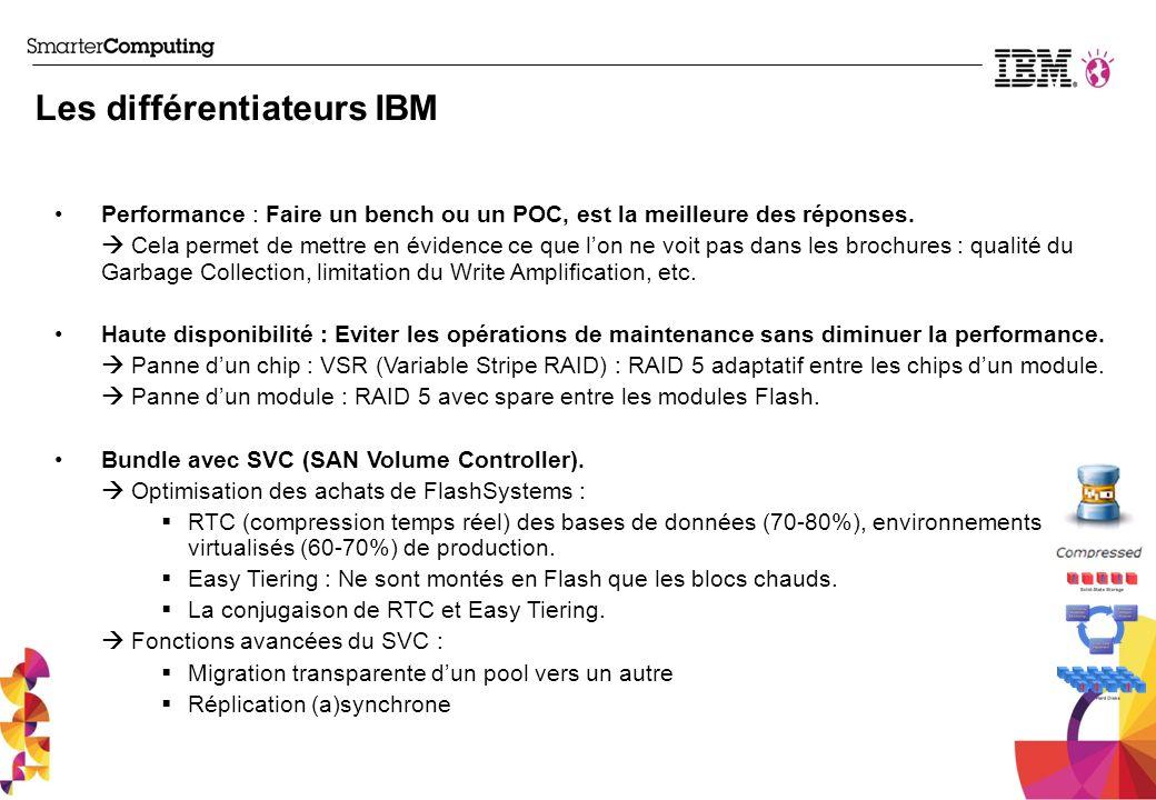 Les différentiateurs IBM