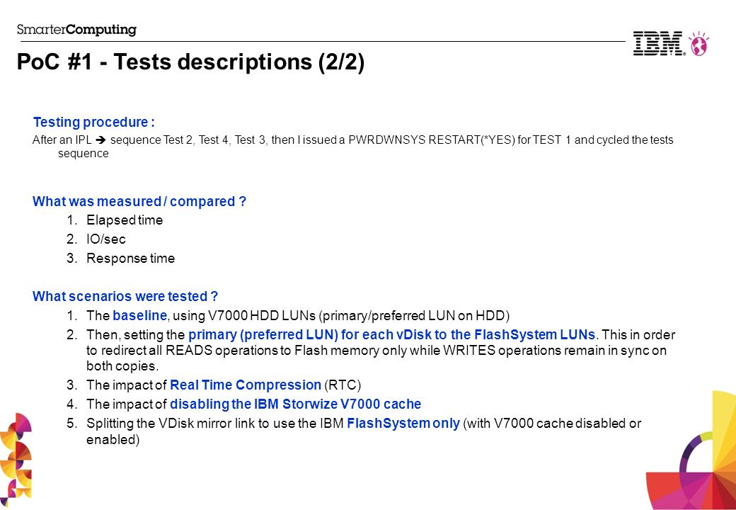 PoC #1 - Tests descriptions (2/2)