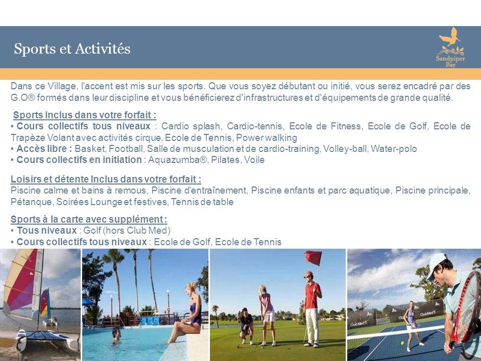 Sports et Activités