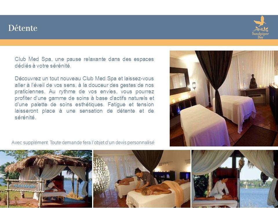DétenteClub Med Spa, une pause relaxante dans des espaces dédiés à votre sérénité.