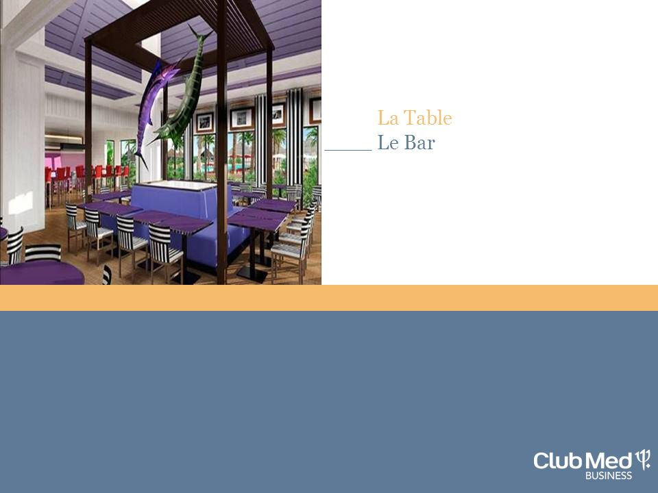La Table Le Bar