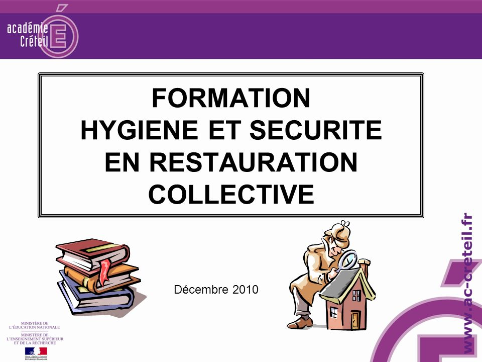 formation hygiene et securite en restauration collective - ppt ... - Formation Cuisine Collective