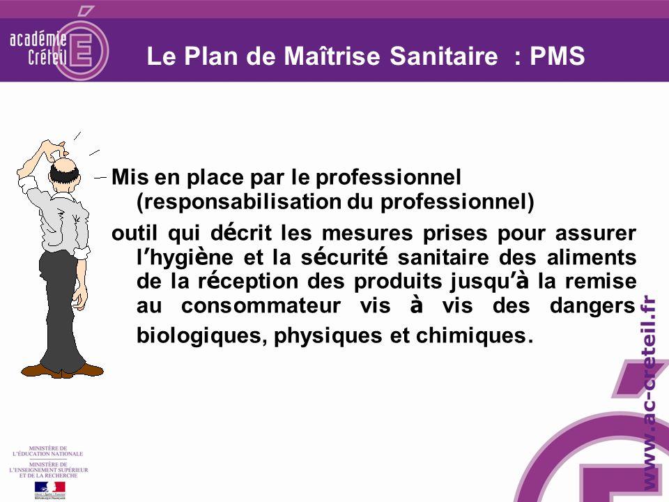 Le Plan de Maîtrise Sanitaire : PMS
