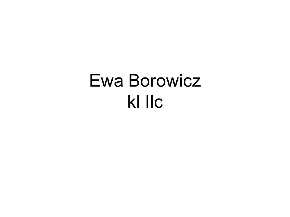 Ewa Borowicz kl IIc