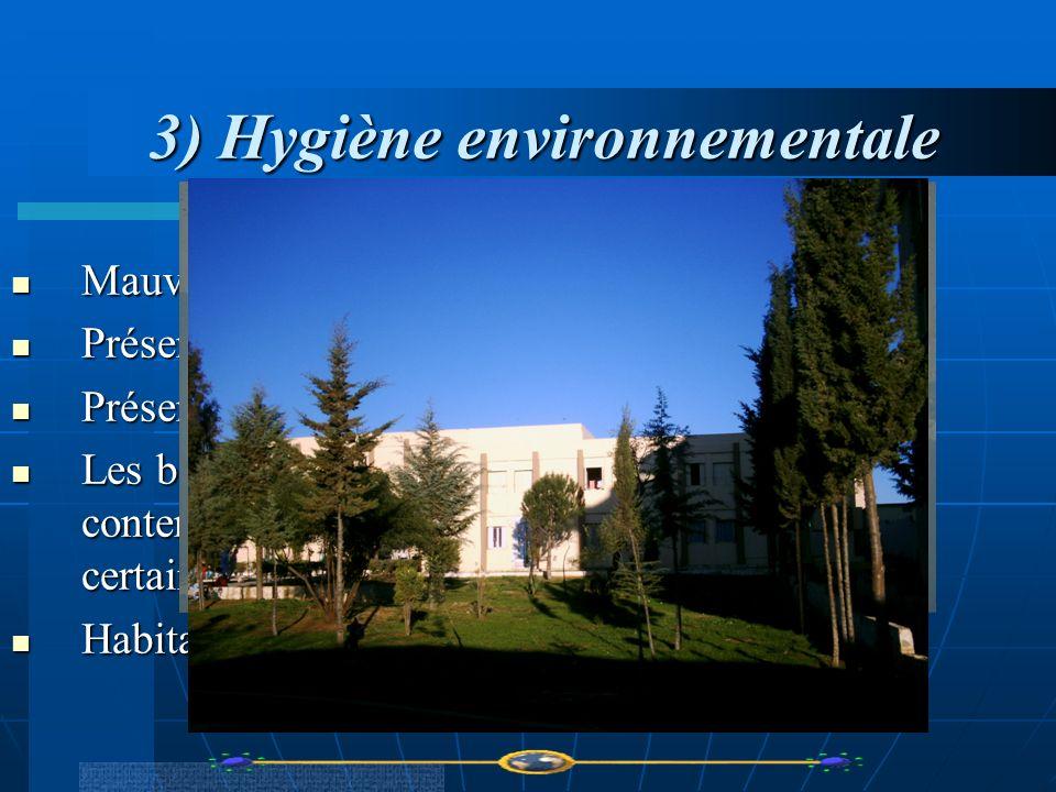 3) Hygiène environnementale