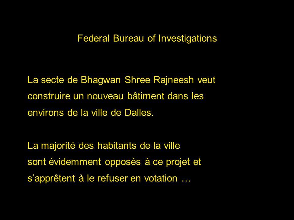 Federal Bureau of Investigations