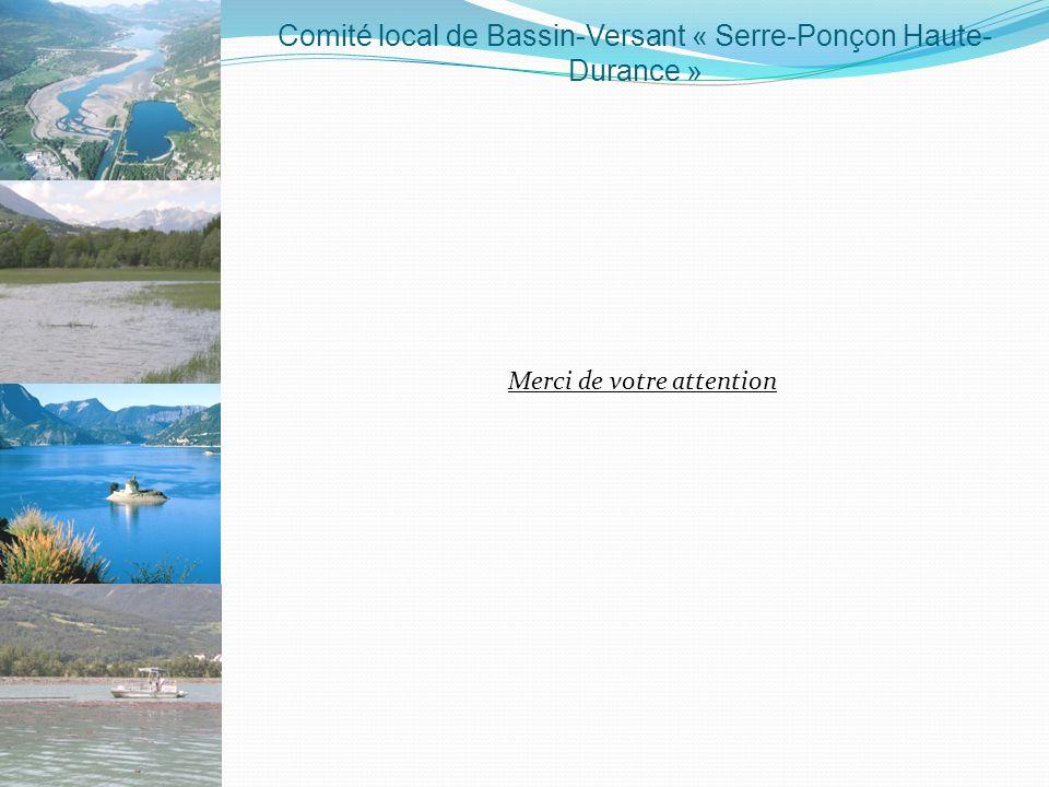 Comité local de Bassin-Versant « Serre-Ponçon Haute-Durance »