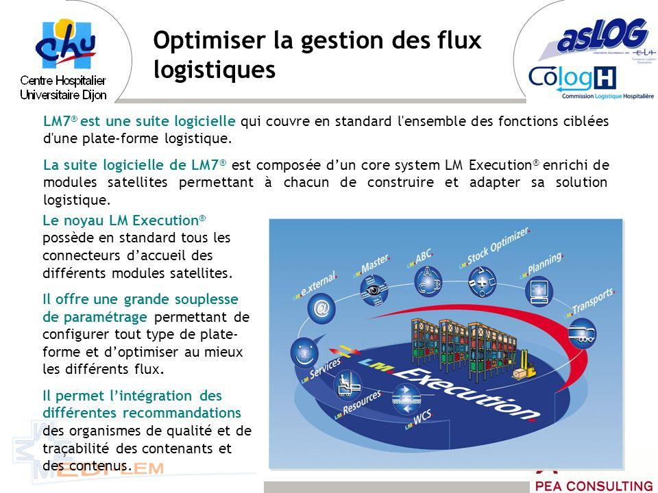 Optimiser la gestion des flux logistiques