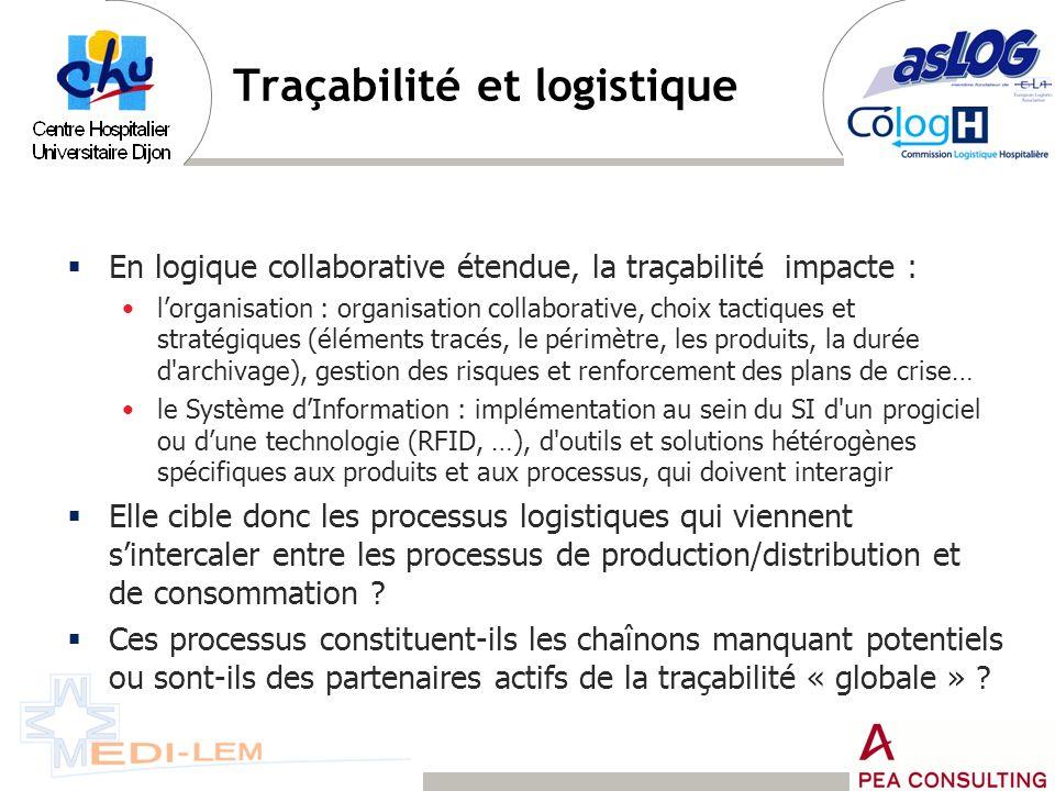 Traçabilité et logistique