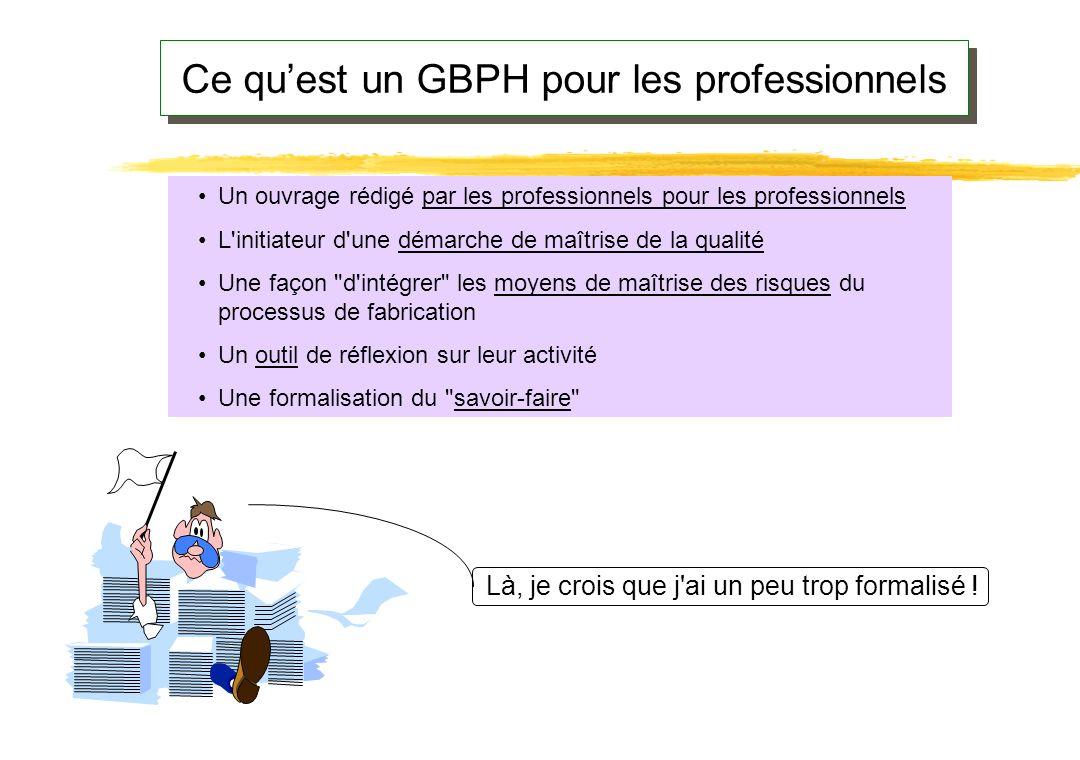 Ce qu'est un GBPH pour les professionnels