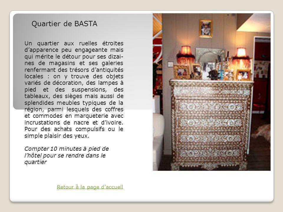 Quartier de BASTA