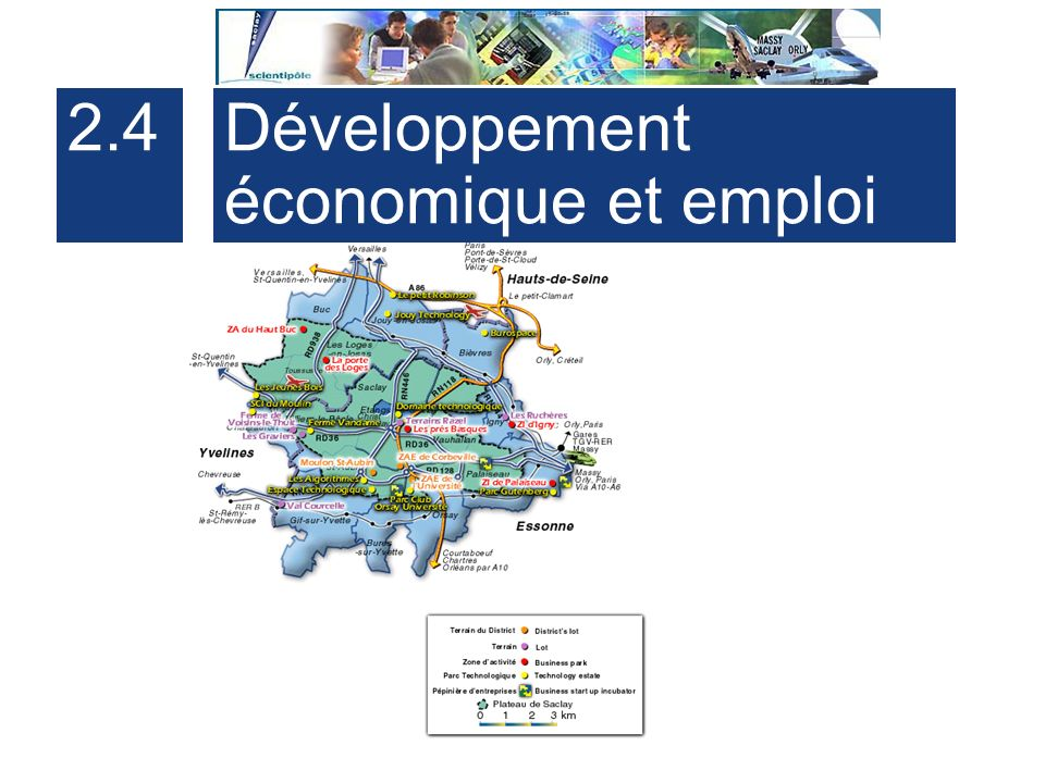 2.4 Développement économique et emploi