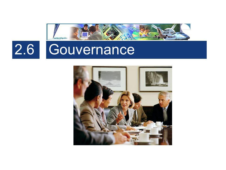 2.6 Gouvernance