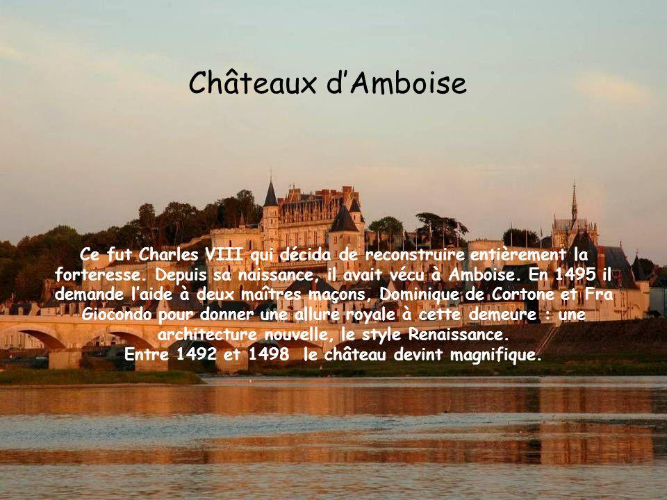 Entre 1492 et 1498 le château devint magnifique.