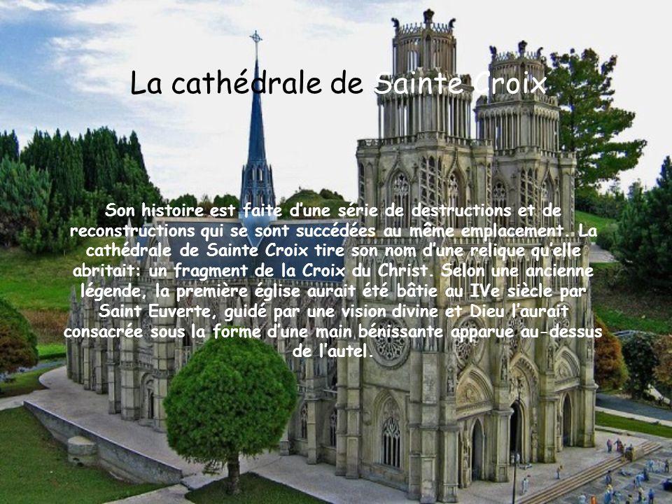 La cathédrale de Sainte Croix