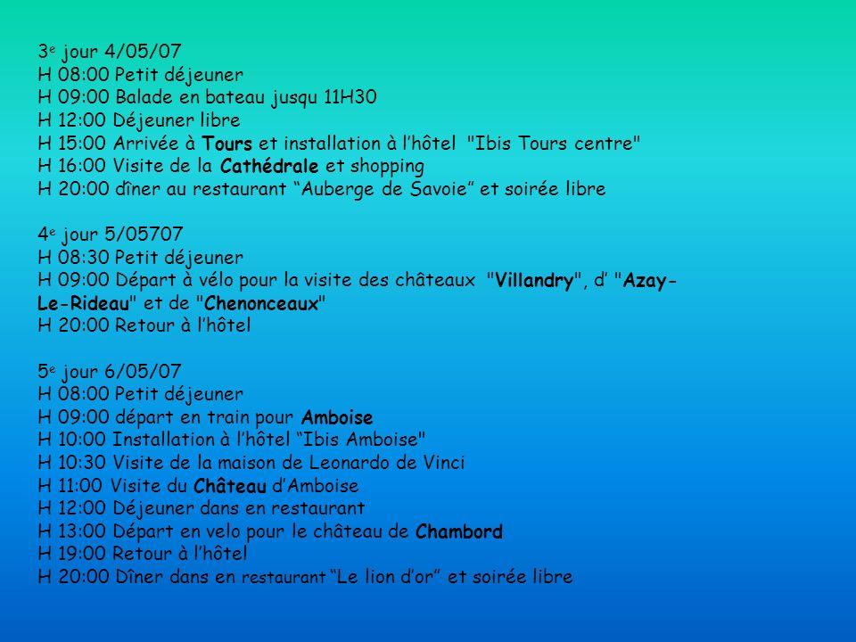 Vacances au pays de la loire ppt video online - Restaurant l aigle d or azay le rideau ...