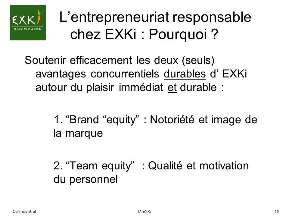 L'entrepreneuriat responsable chez EXKi : Pourquoi