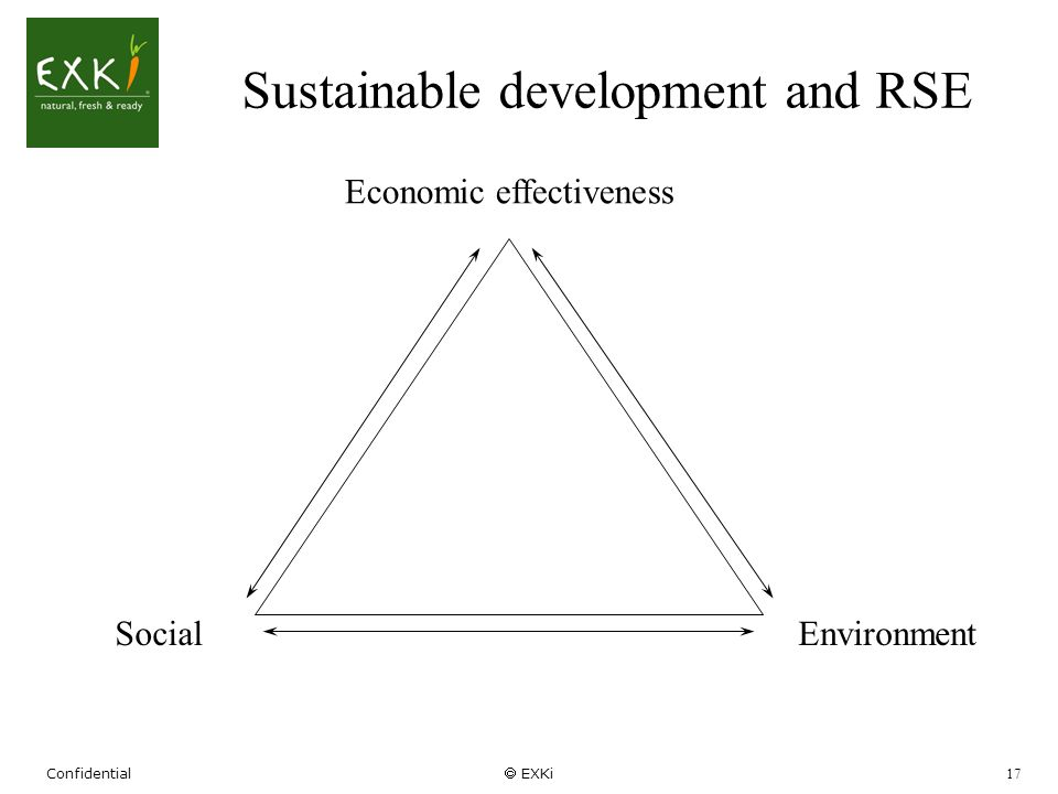 Sustainable development and RSE