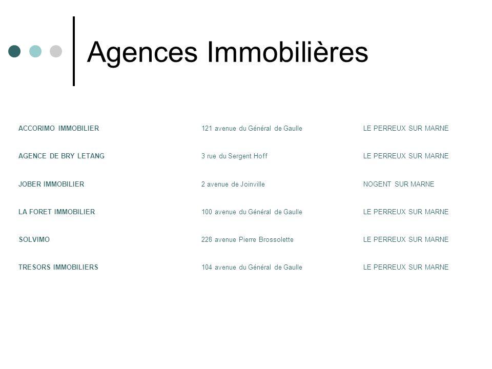 Agences Immobilières ACCORIMO IMMOBILIER
