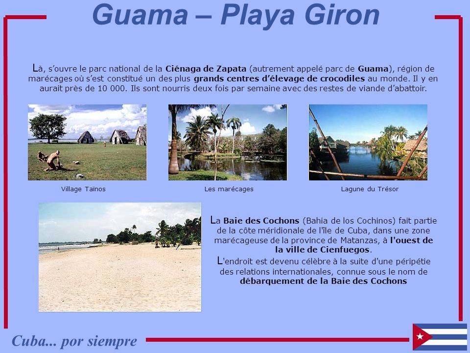 Guama – Playa Giron Cuba... por siempre