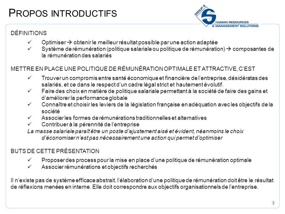 Propos introductifs DÉFINITIONS
