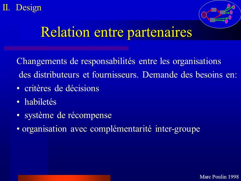 Relation entre partenaires