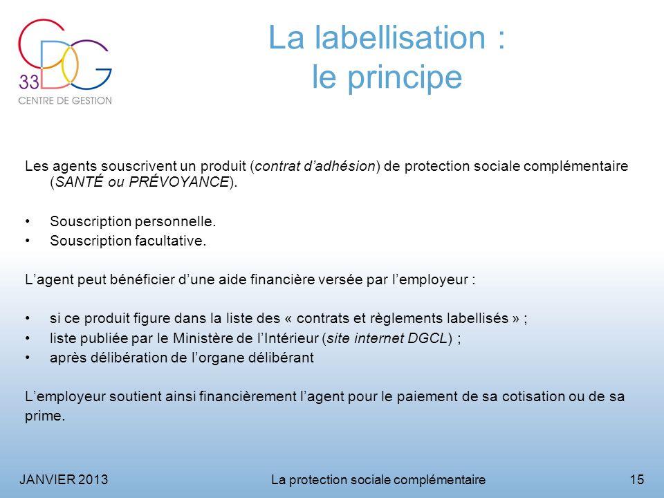 La labellisation : le principe