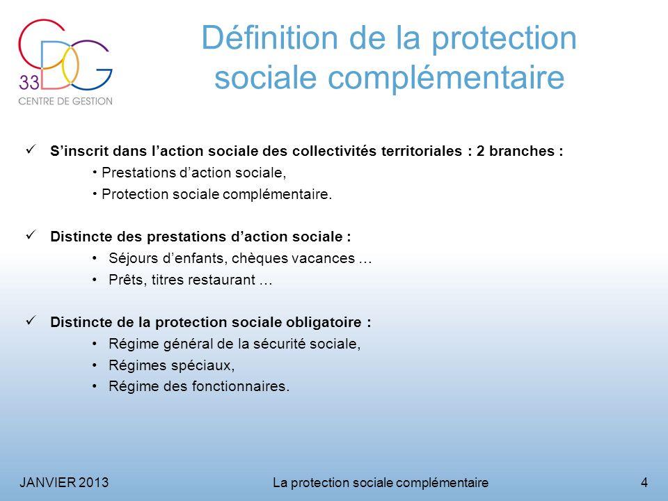 Définition de la protection sociale complémentaire