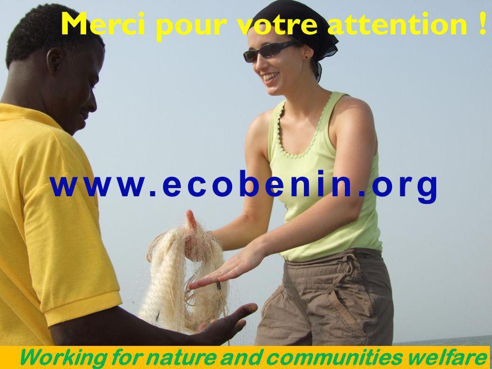 www.ecobenin.org Merci pour votre attention !