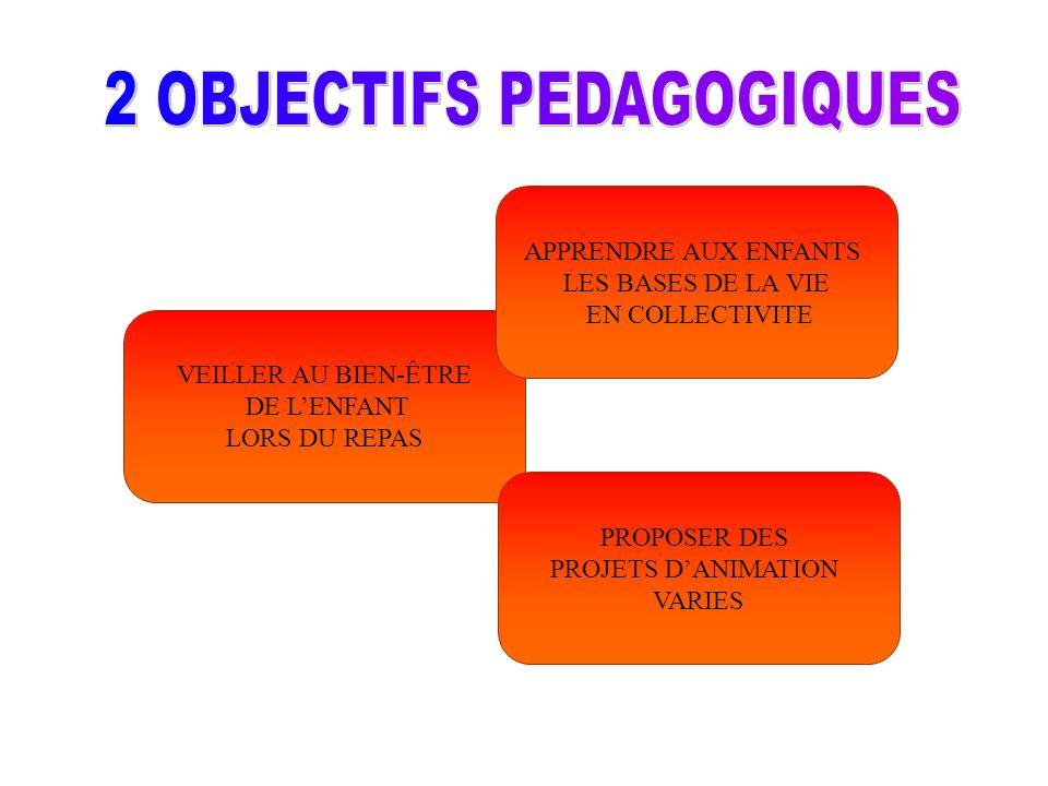 2 OBJECTIFS PEDAGOGIQUES