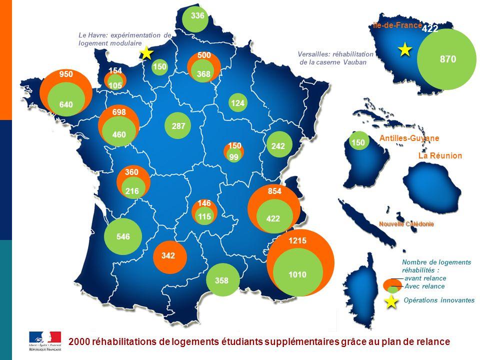 336 Ile-de-France. 422. Le Havre: expérimentation de logement modulaire. 500. Versailles: réhabilitation de la caserne Vauban.