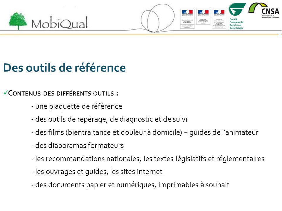 Des outils de référence