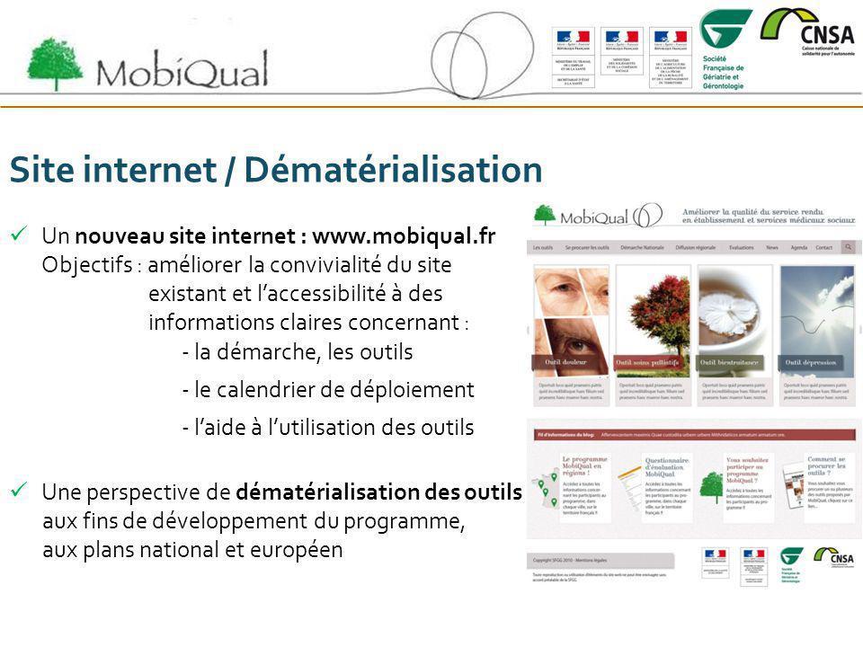 Site internet / Dématérialisation