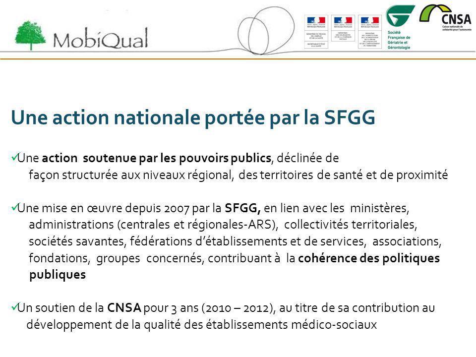 Une action nationale portée par la SFGG