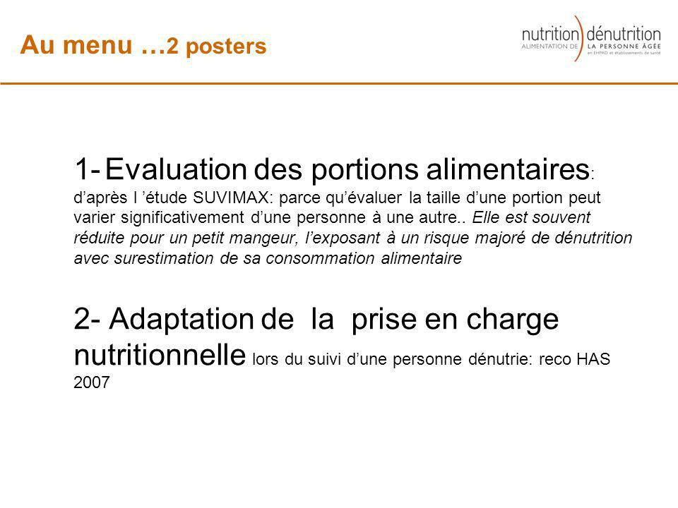 Au menu …2 posters