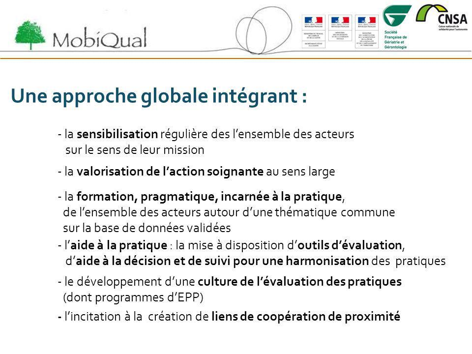 Une approche globale intégrant :