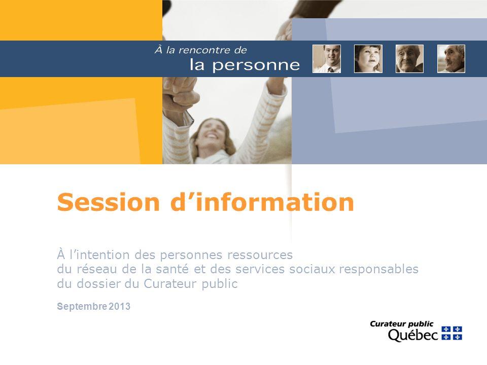 Session d'information