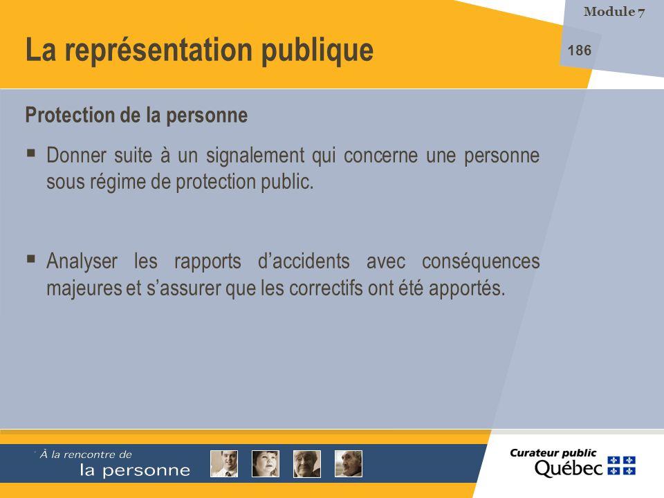 La représentation publique