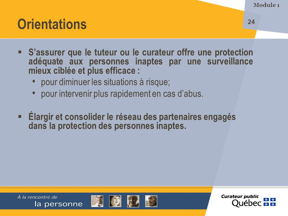 Module 1 Orientations.