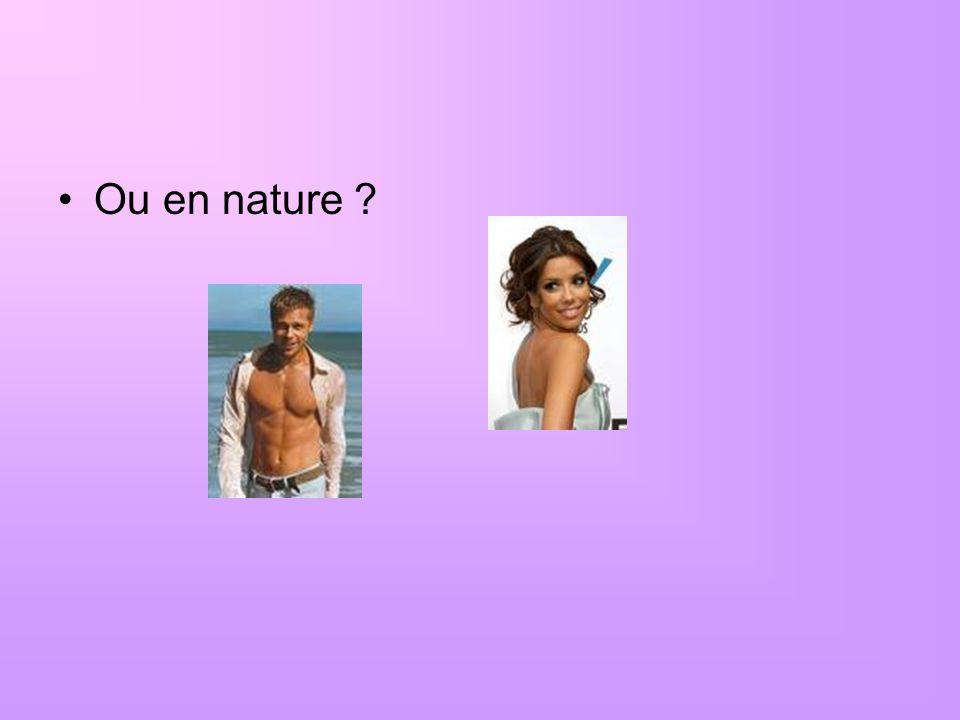 Ou en nature