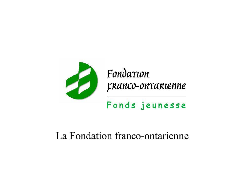 La Fondation franco-ontarienne