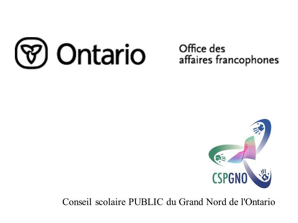 Conseil scolaire PUBLIC du Grand Nord de l Ontario